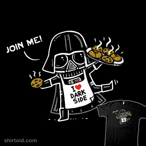 You can't resist the force of the cookies