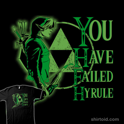 You Have Failed Hyrule