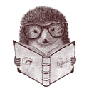 Hipster Hedgehog