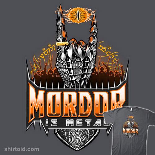 Mordor is Metal