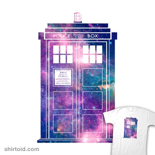 Police Box (Space TARDIS)