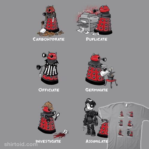 Busy Little Dalek