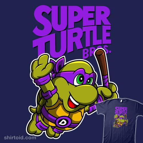 Super Turtle Bros Donatello