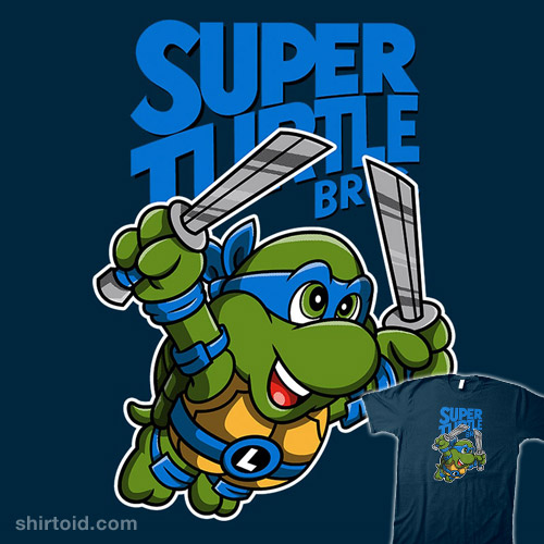 Super Turtle Bros Leonardo