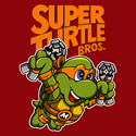 Super Turtle Bros Michelangelo