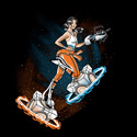 Chell Pinup