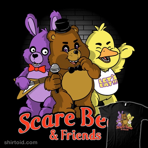 Scare Bear and Friends