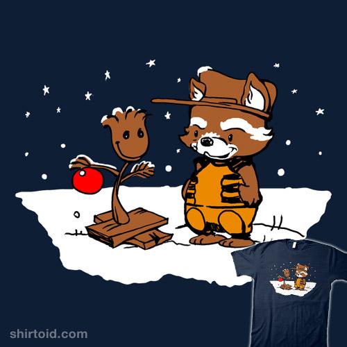 A Groovy Raccoon Christmas