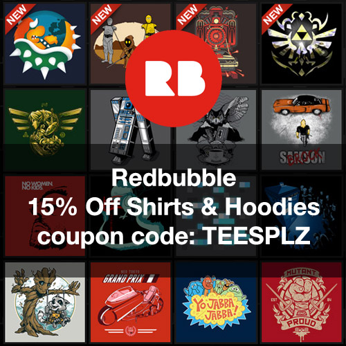 Redbubble coupon code