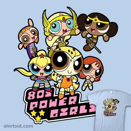 80's Power Girls