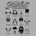 Facial Hair Compendium (Epic Bad Guy Edition)