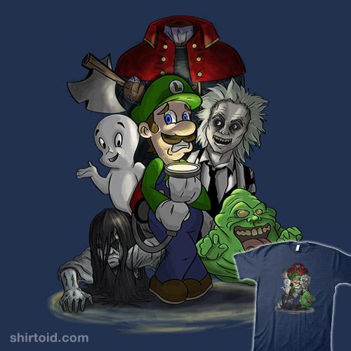Luigi's Ghost Hunt