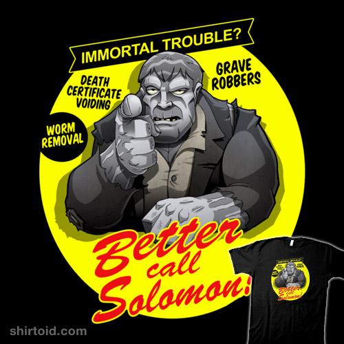 Better Call Solomon!