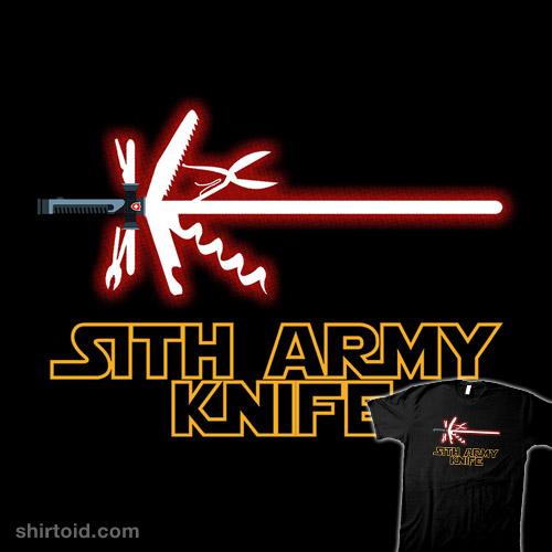 Sith Army Knife Shirtoid