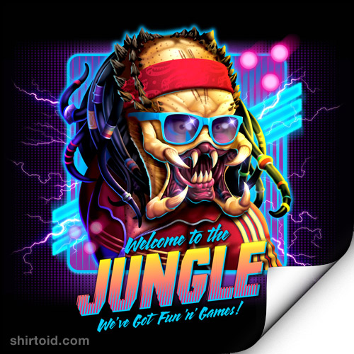 Welcome to the Jungle – art print