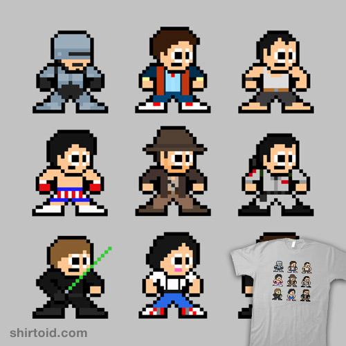 8-Bit 80's Heroes