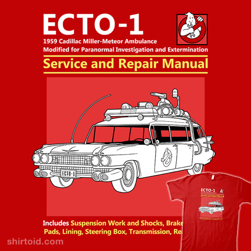 ECTO-1 Service and Repair Manual