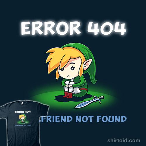 Error 404 Girlfriend Not Found