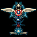 Heroes Totem