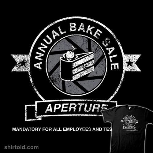 Aperture Bake Sale