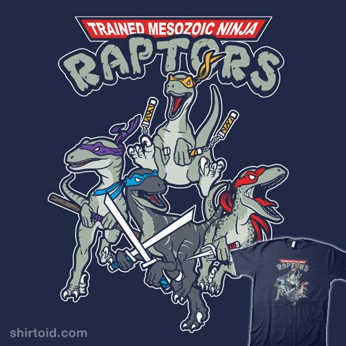 Trained Mesozoic Ninja Raptors