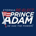 Re-Elect Prince Adam