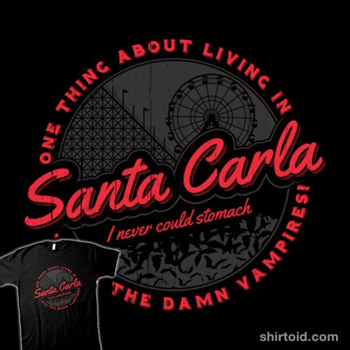 Living in Santa Carla