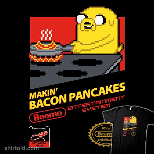 Super Bacon Pancakes