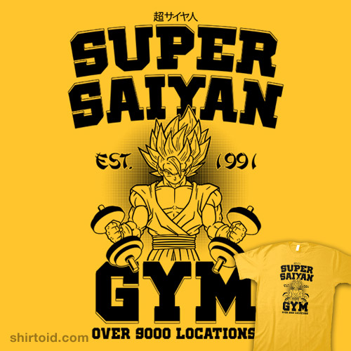 Super Saiyan Gym