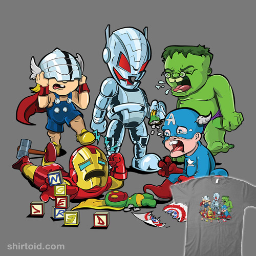 Avenger Babies: Nursery Age of Ultron