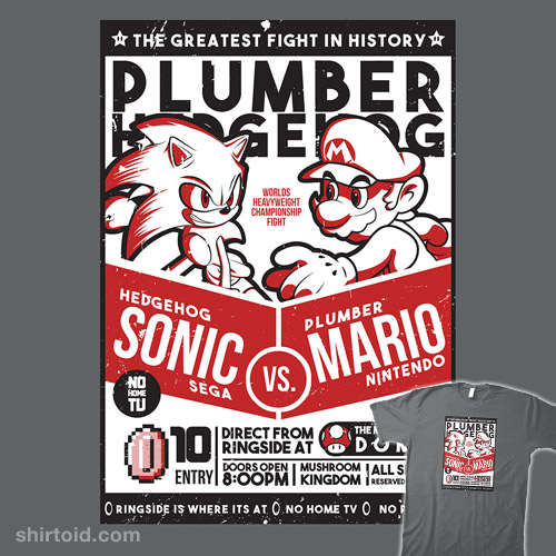 Plumber vs. Hedgehog