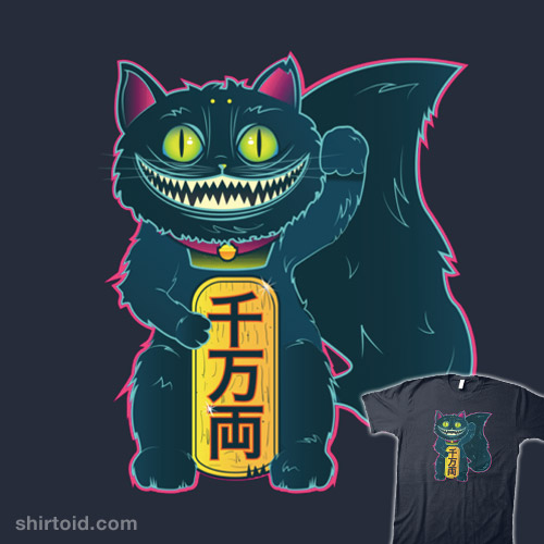 The Cheshire Maneki-Neko
