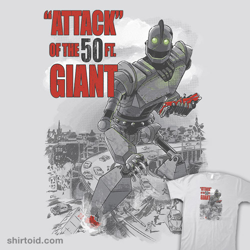 """""""Attack"""" of the 50 foot Giant"""
