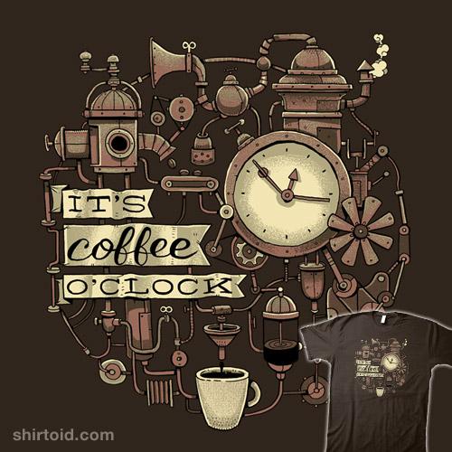 It's Coffee O'Clock