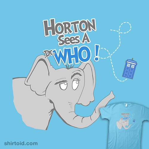 Horton Sees a Dr Who