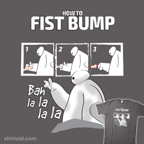 How to fist bump!