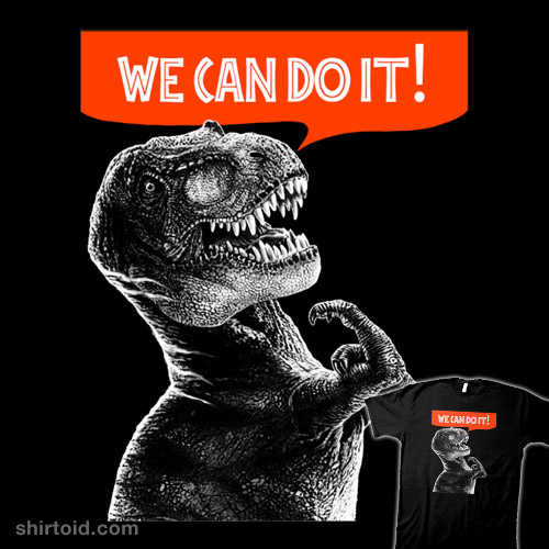 Rexy Can Do It!