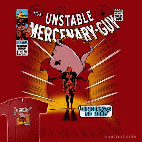 The Unstable Mercenary-Guy