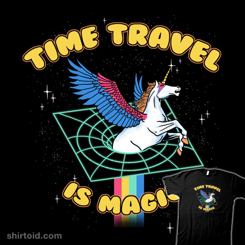 Time Travel is Magic