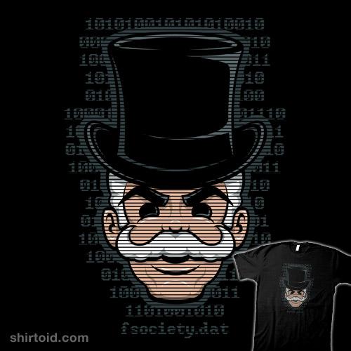 Mr. Robot Mask | Shirtoid
