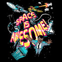 SPACE IS AWESOME.