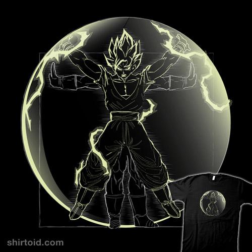 Vitruvian Saiyan (Goku)