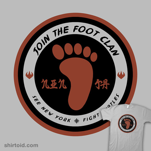 Foot Clan Recruitment Shirtoid