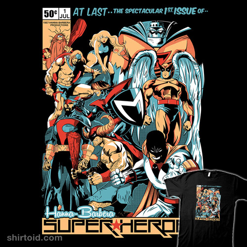 Hanna-Barbera Super Heroes