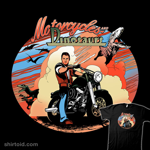 Motorcycles and Dinosaurs
