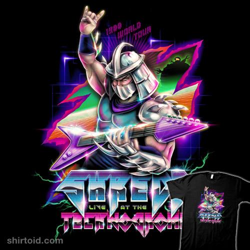 Shredd, Live at the Technodrome