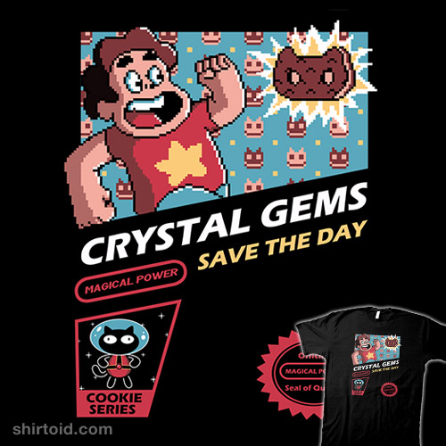 Crystal Gems Save the Day