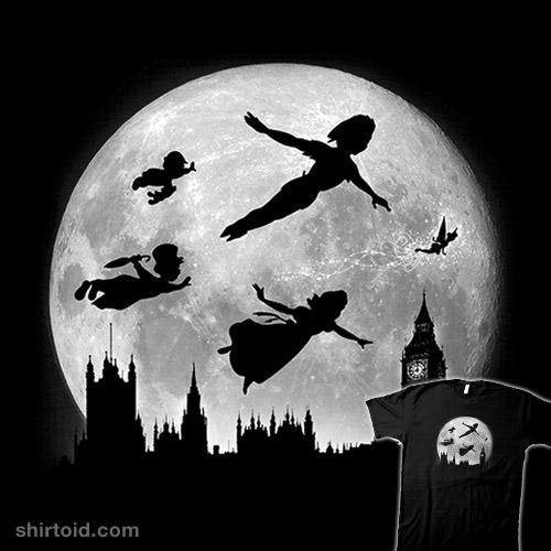 Full Moon Over London Shirtoid