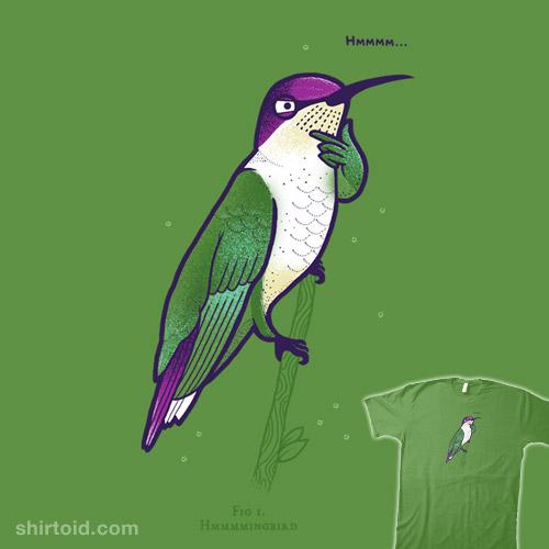 Hmmmming bird