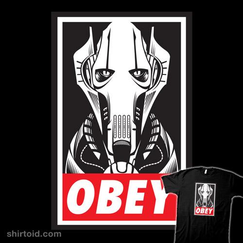 OBEY – GRIEVOUS